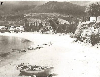stoupa beach 1950's old picture