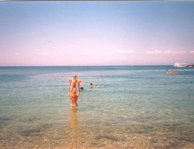 stoupa beach - sept. '90